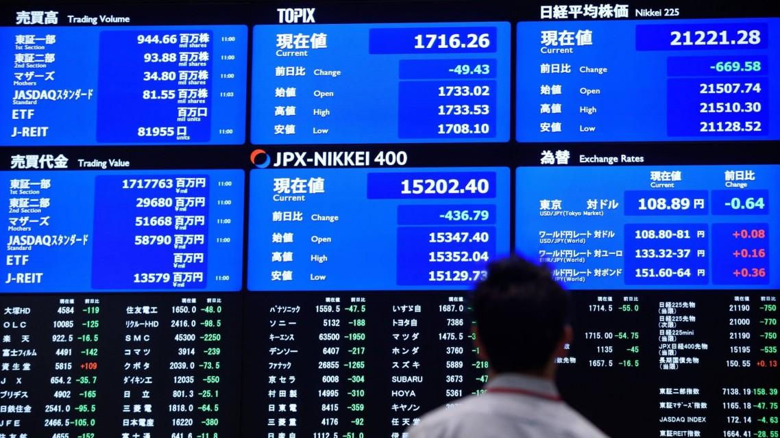 Azijska tržišta pod pritiskom na kraju nedelje